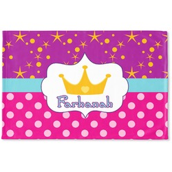 Sparkle & Dots Woven Mat (Personalized)