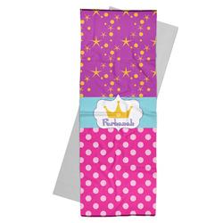 Sparkle & Dots Yoga Mat Towel (Personalized)