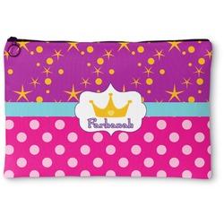 Sparkle & Dots Zipper Pouch (Personalized)