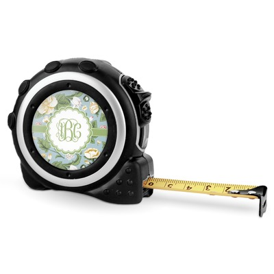 Vintage Floral Tape Measure - 16 Ft (Personalized)