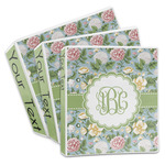 Vintage Floral 3-Ring Binder (Personalized)