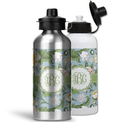 Vintage Floral Water Bottles- Aluminum (Personalized)