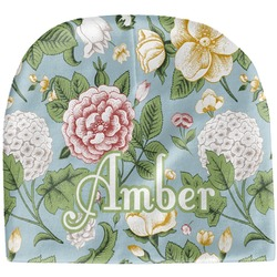 Vintage Floral Baby Hat (Beanie) (Personalized)