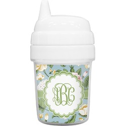 Vintage Floral Baby Sippy Cup (Personalized)