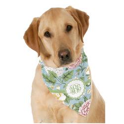 Vintage Floral Dog Bandana Scarf w/ Monogram