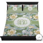Vintage Floral Duvet Cover Set (Personalized)
