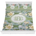 Vintage Floral Comforter Set (Personalized)