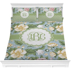 Vintage Floral Comforters (Personalized)