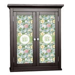 Vintage Floral Cabinet Decal - Custom Size (Personalized)