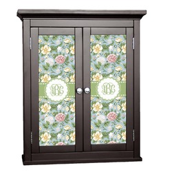 Vintage Floral Cabinet Decal - Small (Personalized)