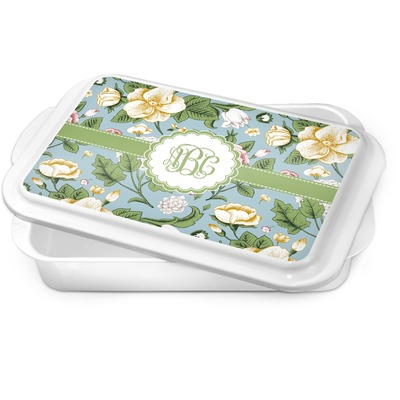 Vintage Floral Cake Pan (Personalized)