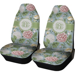 Vintage Floral Car Seat Covers (Set of Two) (Personalized)