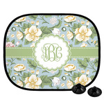 Vintage Floral Car Side Window Sun Shade (Personalized)