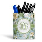 Vintage Floral Ceramic Pen Holder