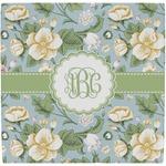 Vintage Floral Ceramic Tile Hot Pad (Personalized)