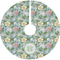 Vintage Floral Tree Skirt (Personalized)