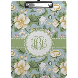 Vintage Floral Clipboard (Personalized)