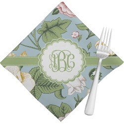 Vintage Floral Napkins (Set of 4) (Personalized)