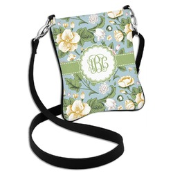 Vintage Floral Cross Body Bag - 2 Sizes (Personalized)