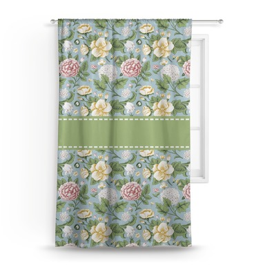 Vintage Floral Curtain (Personalized)