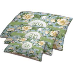 Vintage Floral Dog Bed w/ Monogram