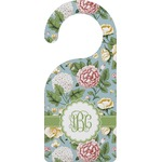 Vintage Floral Door Hanger (Personalized)