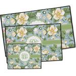 Vintage Floral Door Mat (Personalized)