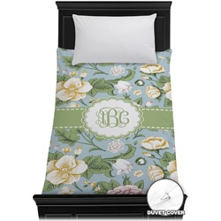 Vintage Floral Duvet Cover - Twin (Personalized)