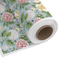 Vintage Floral Custom Fabric - Spun Polyester Poplin (Personalized)