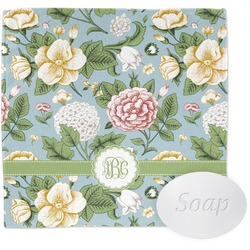 Vintage Floral Wash Cloth (Personalized)