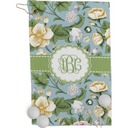 Vintage Floral Golf Towel - Full Print (Personalized)