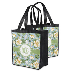 Vintage Floral Grocery Bag (Personalized)