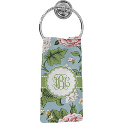 Vintage Floral Hand Towel - Full Print (Personalized)