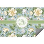 Vintage Floral Indoor / Outdoor Rug (Personalized)