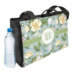 Vintage Floral Ladies Workout Bag (Personalized)