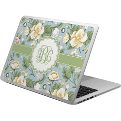 Vintage Floral Laptop Skin - Custom Sized (Personalized)