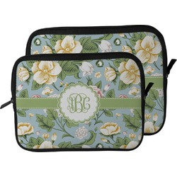 Vintage Floral Laptop Sleeve / Case (Personalized)