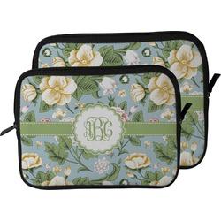 Vintage Floral Laptop Sleeve / Case (Personalized)