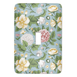 Vintage Floral Light Switch Covers (Personalized)