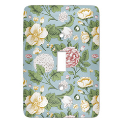 Vintage Floral Light Switch Covers - Multiple Toggle Options Available (Personalized)