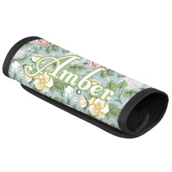 Vintage Floral Luggage Handle Cover (Personalized)
