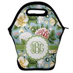 Vintage Floral Lunch Bag w/ Monogram