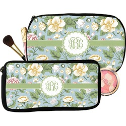 Vintage Floral Makeup / Cosmetic Bag (Personalized)