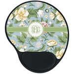 Vintage Floral Mouse Pad with Wrist Support