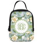 Vintage Floral Neoprene Lunch Tote (Personalized)