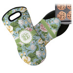 Vintage Floral Neoprene Oven Mitt (Personalized)