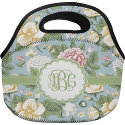 Vintage Floral Lunch Bag (Personalized)