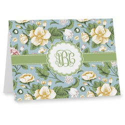 Vintage Floral Note cards (Personalized)