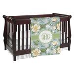Vintage Floral Baby Blanket (Personalized)