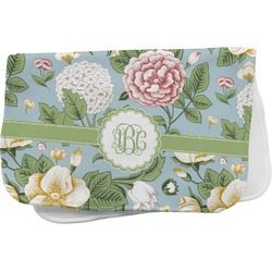 Vintage Floral Burp Cloth (Personalized)